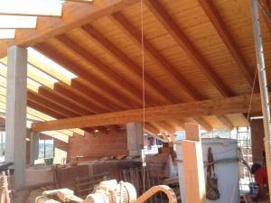 Controsoffitto In Legno Lamellare : Segheria selargius cagliari u legname u legno perlinato